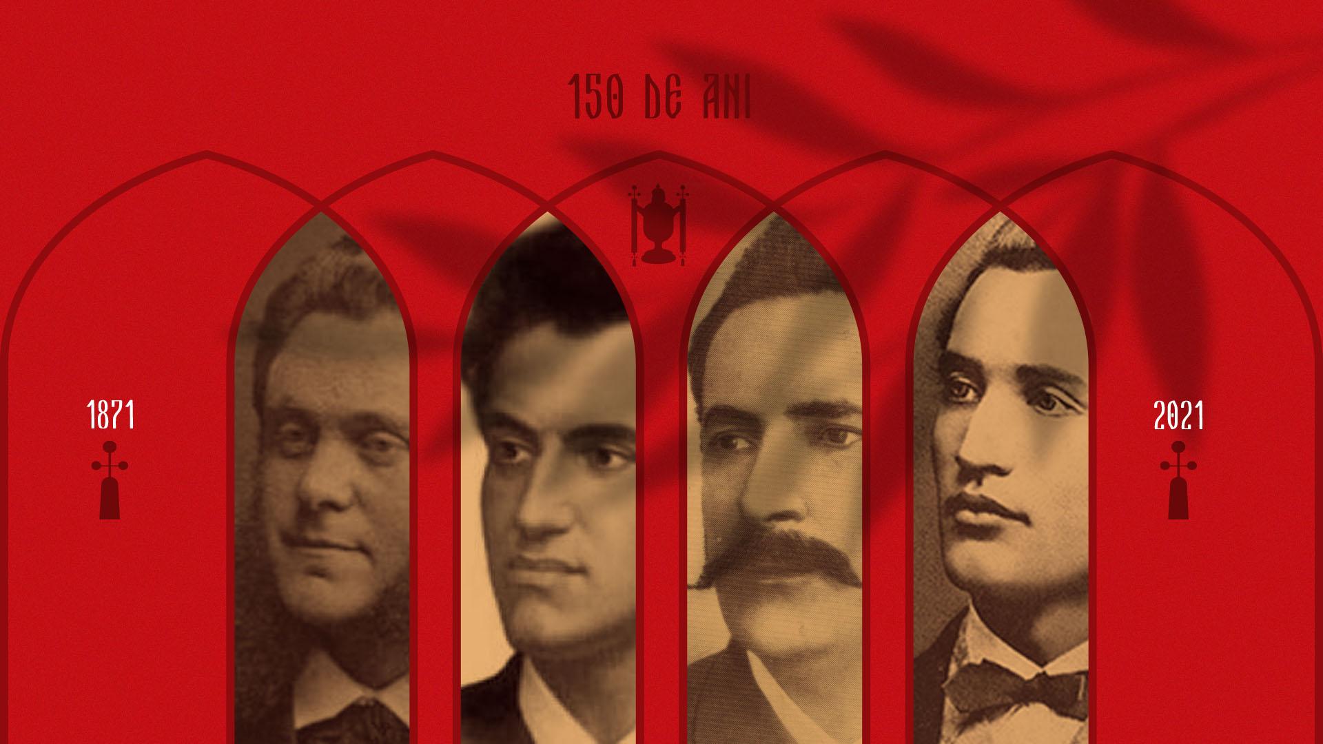Organizatorii Serbării din 1871 de la Putna