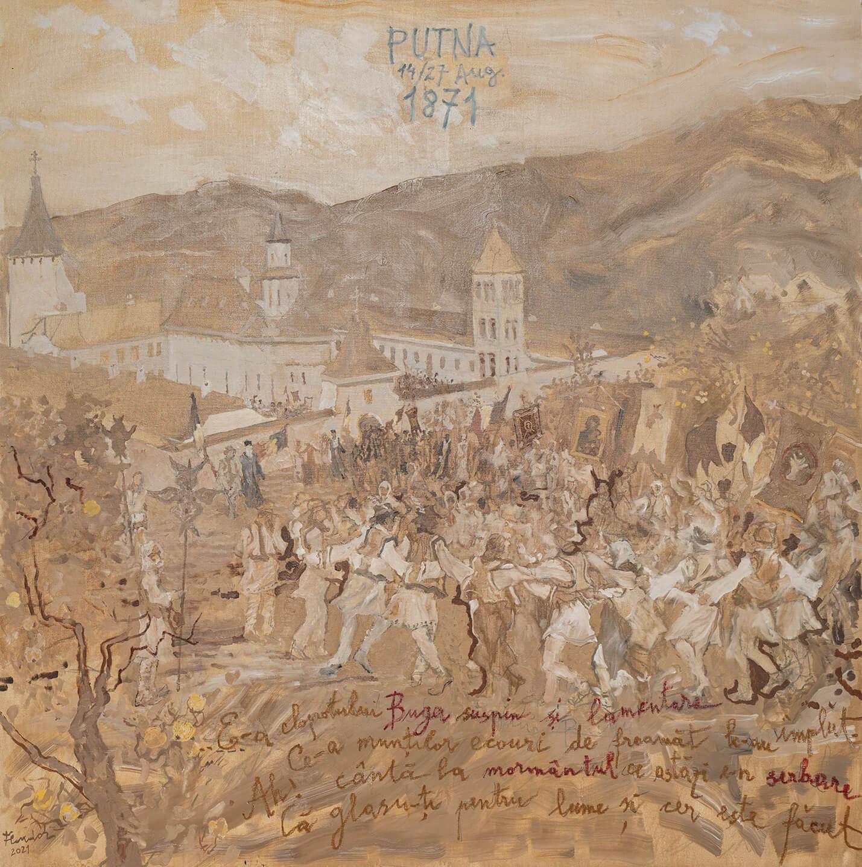 """Constantin Flondor - """"Serbarea de la Putna 1871"""""""