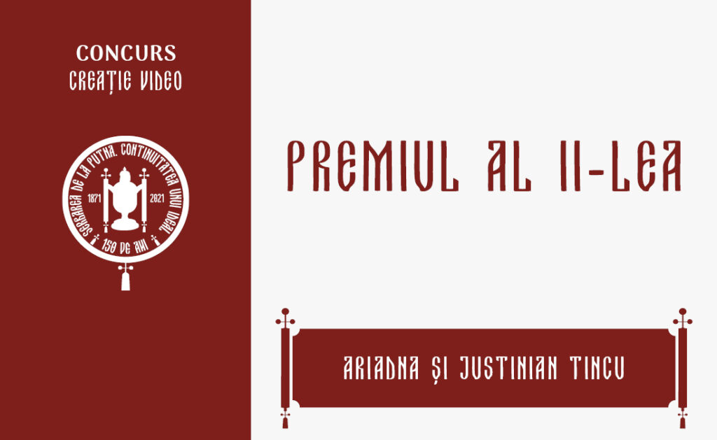 Ariadna și Justinian Tincu, Premiul al II-lea, Concursul de creație video